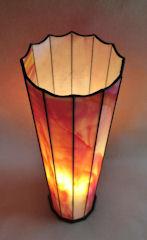Säulen Lampe im Weisses Feuer, 9 Fotos