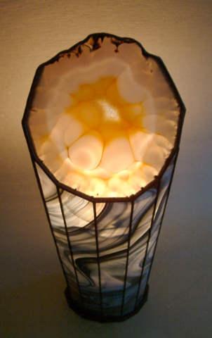 Red Jellyfish Lamp